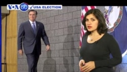 VOA60 Elections - Romney pulls even with Obama