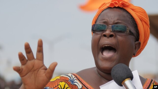 Opposition leader Isabelle Ameganvi, on August 25, calls on Togo's women to observe a one-week sex strike to demand the resignation of the president