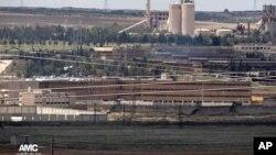 Penjara pusat di Aleppo, Suriah (22/5/2014)