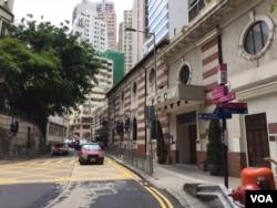 人权观察有关中国职场性歧视报告在香港国际记者会(FCC)发表(美国之音记者申华拍摄)