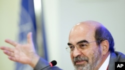 Jose Graziano da Silva, director-general of the UN's Food and Agriculture Organization (FAO) (2011 file photo).