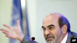 Jose Graziano da Silva, director-general of the UN's Food and Agriculture Organization (FAO) (2011 file photo).