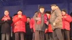 俄罗斯发生更多谴责选举舞弊抗议