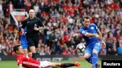 Duel entre Manchester United et Leicester en Premier League, le 24 septembre 2016