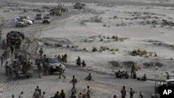 也門南部軍方加強戒備。