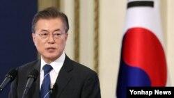 El presidente de Corea del Sur, Moon Jae-in, dice que evitará una seguna guerra con Corea del Norte.