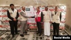 تحویل کمک های عربستان و امارات به سیل زدگان ایران