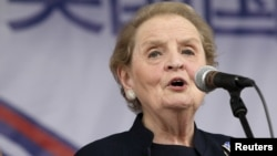 Madeleine Albright, former U.S. Secretary of State (July 2010 file photo)
