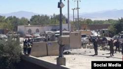 تصویری از در شبکههای اجتماعی از انفجار روز سهشنبه در استان پروان افغانستان منتشر شده است.