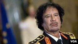 PBB dan kelompok-kelompok hak asasi mempertanyakan situasi kematian mantan pemimpin Libya, Moammar Gaddafi (foto: dok).
