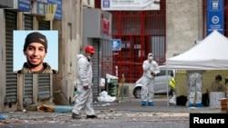 A l'extérieur de l'immeuble de Saint-Denis où l'assaut s'est déroulé, le 19 novembre 2015. (REUTERS/Benoit Tessier)