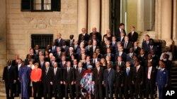 Avropa İttifaqı və Afrika liderləri Maltada miqrant sammitində