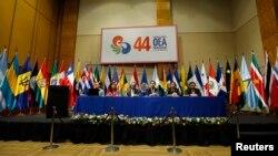 Inicia la cuadragésima cuarta Asamblea General de la OEA, en la capital de Paraguay.