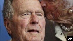 Cựu Tổng thống Mỹ George H. W. Bush.