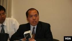 中国人权律师李柏光(2006年5月3日资料照)