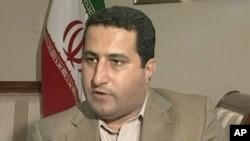 APTN viideo still shows Iranian scientist Shahram Amiri during interview, 13 July 2010