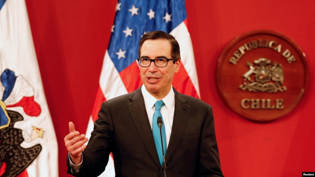 Image result for Treasury Secretary Steven Mnuchin and TPP