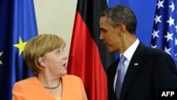 нґела Меркель і Барак Обама