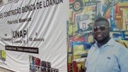 """Patrício Mawete quer preservar """"Loanda"""" através da arte"""
