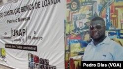 """Exposição de Patrício Mawete """"A (Des)construção Biónica de Loanda"""""""