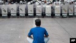 Polisi Thailand Ambil Alih Tempat-tempat Demonstrasi di Bangkok