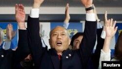 Cựu Bộ trưởng Y Tế Yoichi Masuzoe nói ông sẽ đưa Tokyo lên vị thế thành phố số một của thế giới.