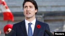 Sabon Firayim Ministan Canada Justin Trudeau