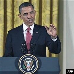 Obama na konferenciji za novinare u Beloj kući