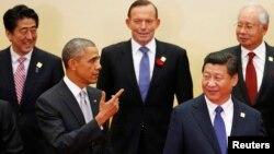 Барак Обама и председатель КНР Си Цзиньпин