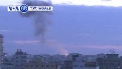 Gaza: Six die in Israeli airstrike on two cars in Gaza.
