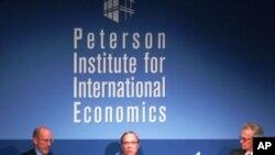 워싱턴에 소재 피터슨국제경제연구소에서 열린, '북한의 사회경제적 변화'에 대한 토론회