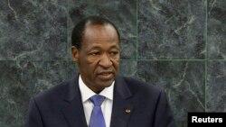 Blaise Compaoré, l'ancien président du Burkina Faso (Reuters)