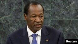 L'ex-président burkinabè Blaise Compaore