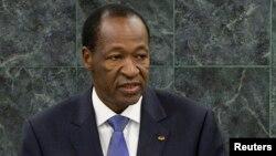 Blaise Compaore, l'ancien président du Burkina Faso