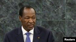 Blaise Compaore, l'ex-président du Burkina Faso