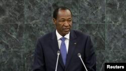 Blaise Compaoré, ex-président du Burkina Faso