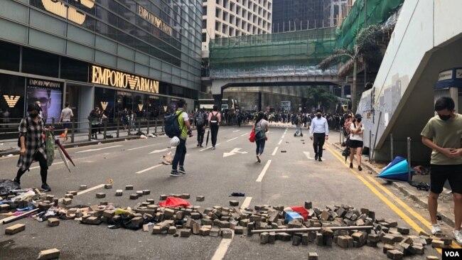 Blokade u Hong Kongu