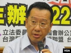 台湾声援中国人权律师网络副召集人顾立雄律师(美国之音张永泰拍摄)