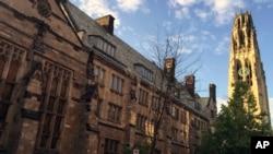 Kampus Universitas Yale di New Haven, Connecticut (foto: ilustrasi).