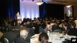 امریکی وزیرِ تجارت کی افتتاحی تقریر