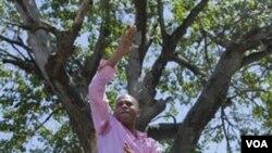 Michel Martelly, yang dinyatakan sebagai pemenang pemilu presiden tahap kedua.