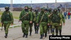 Военнослужащие, участвующие в российской аннексии Крыма