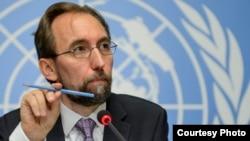 Зейд Раад аль-Хусейн, верховний комісар ООН з прав людини