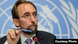 Komisaris Tinggi PBB urusan HAM, Zeid Raad al-Hussein (foto: dok).