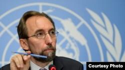 BMT-nin İnsan Haqları üzrə ali komissarı Zeyd Raad Əl-Hüseyn