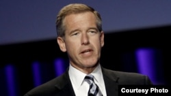 "FILE - Media critic Jim Naureckas says Brian Williams' association in the public mind with exaggeration is ""a problem for NBC."""