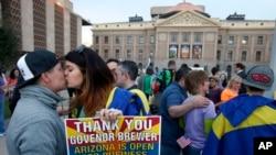 El gobierno de EE.UU. garantiza más beneficios a las parejas del mismo sexo que estén legalmente casadas.