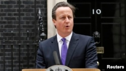 El primer ministro británico no ofreció ninguna declaración por tratarse de asuntos de seguridad nacional.