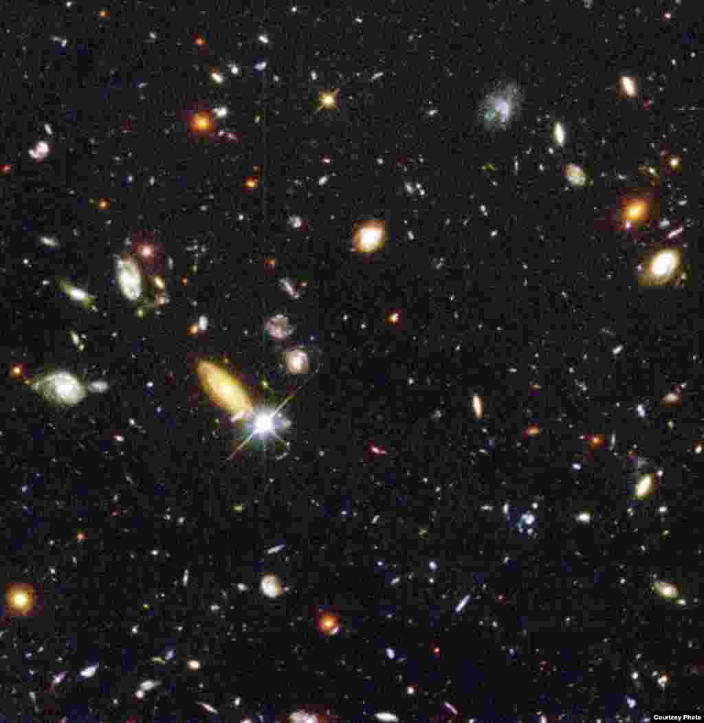 Among its remarkable discoveries is a deeper understanding of the evolution of the universe and capturing images of galaxies that may have formed less than one billion years after the Big Bang, Jan. 15, 1996. (NASA)