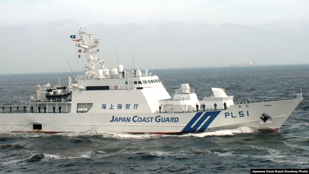 Tàu tuần duyên Nhật Bản. (Ảnh tư liệu)